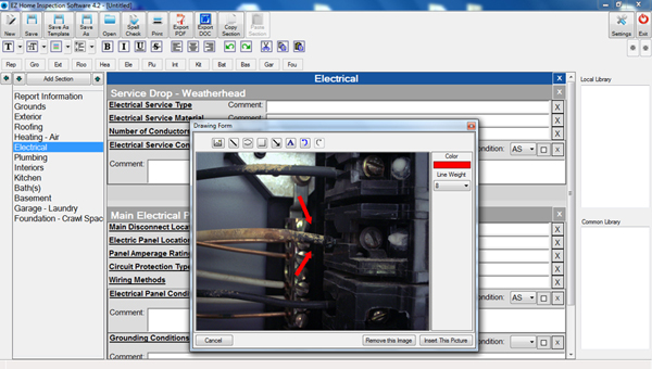 Click to view EZ Home Inspection Software 5.0 screenshot