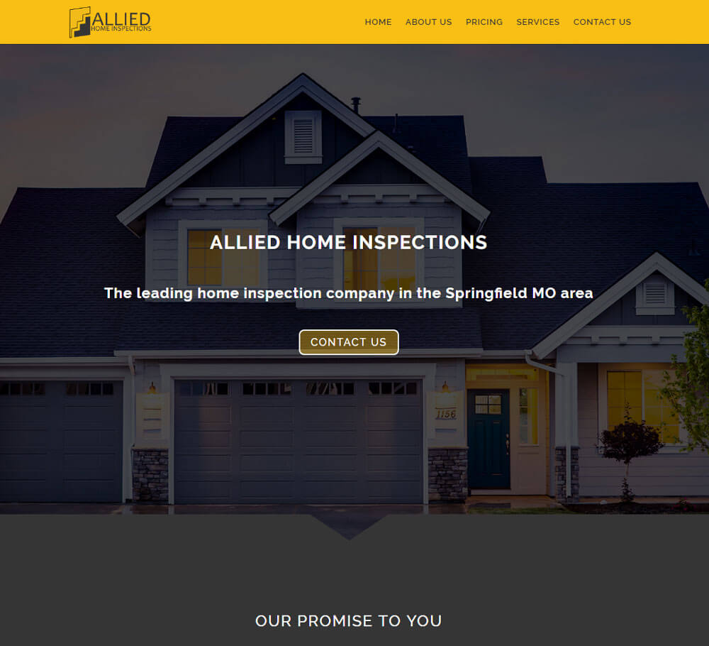 Home Inspection Website Templates 12